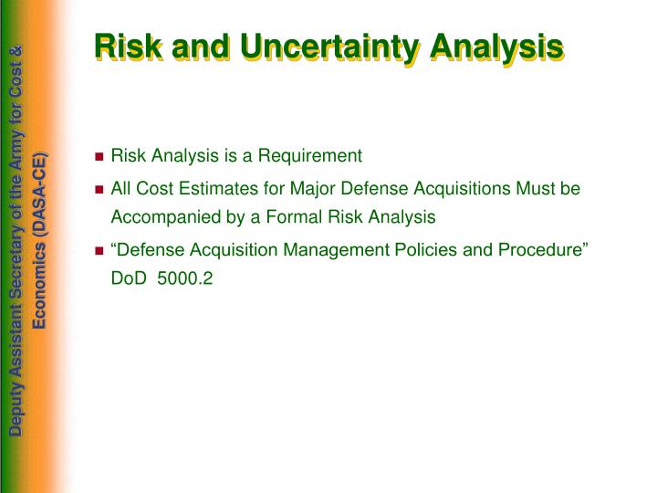 Risk and Uncertainty Analysis