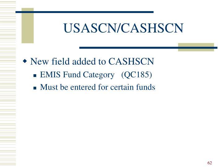 USASCN/CASHSCN