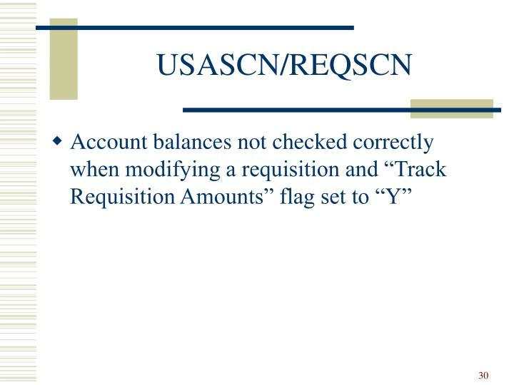 USASCN/REQSCN