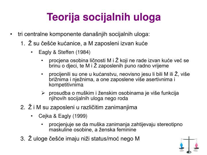 Teorija socijalnih uloga