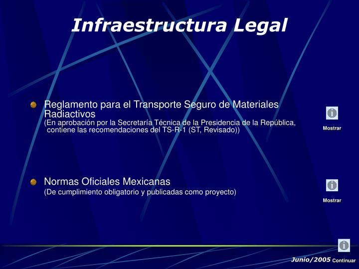 Reglamento para el Transporte Seguro de Materiales Radiactivos