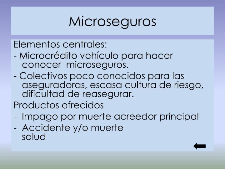 Microseguros
