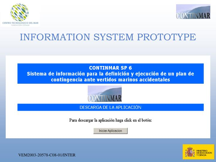 INFORMATION SYSTEM PROTOTYPE