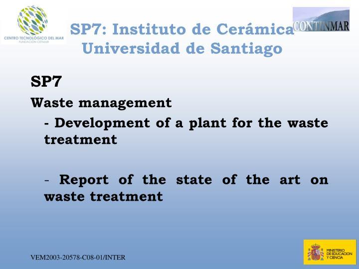 SP7: Instituto de Cerámica