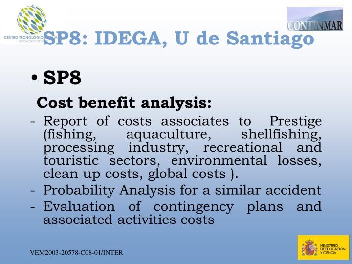 SP8: IDEGA, U de Santiago