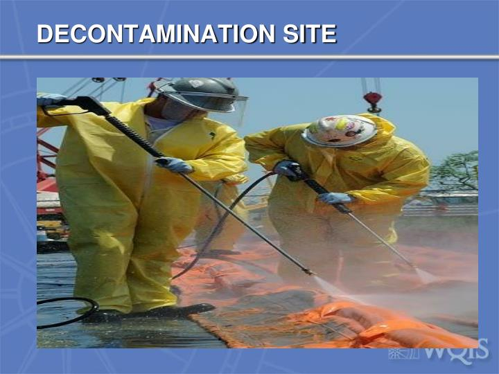 DECONTAMINATION SITE