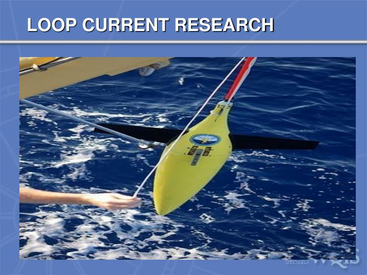LOOP CURRENT RESEARCH