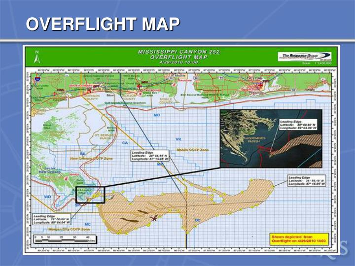 OVERFLIGHT MAP