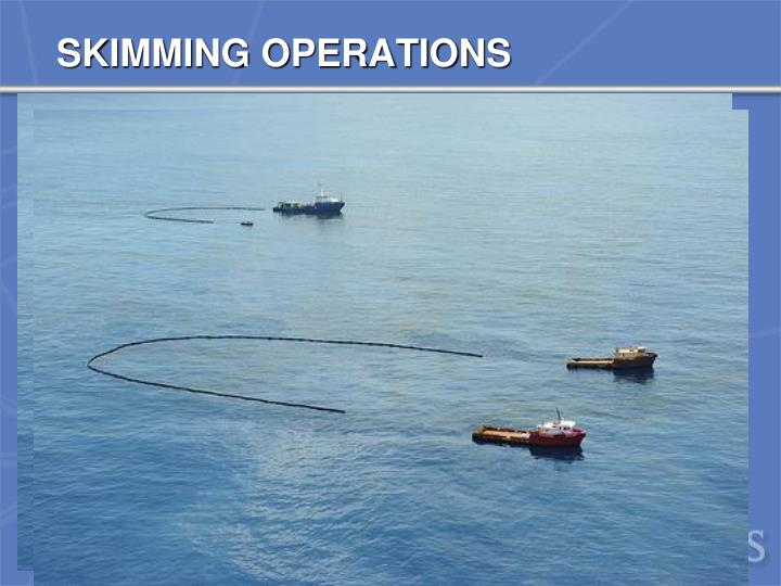 SKIMMING OPERATIONS