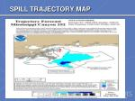 spill trajectory map