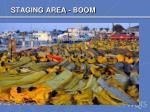 staging area boom1