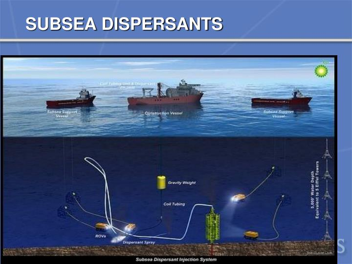 SUBSEA DISPERSANTS