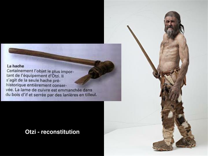 Otzi - reconstitution