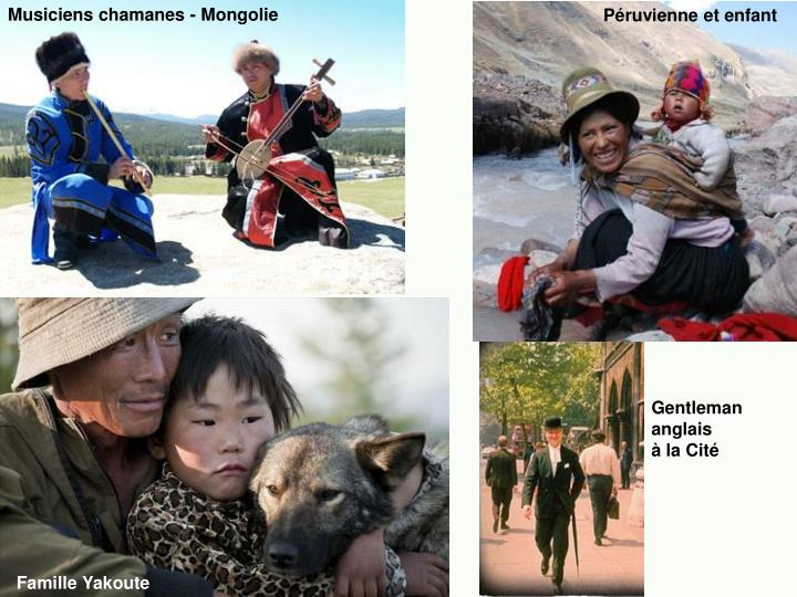 Musiciens chamanes - Mongolie