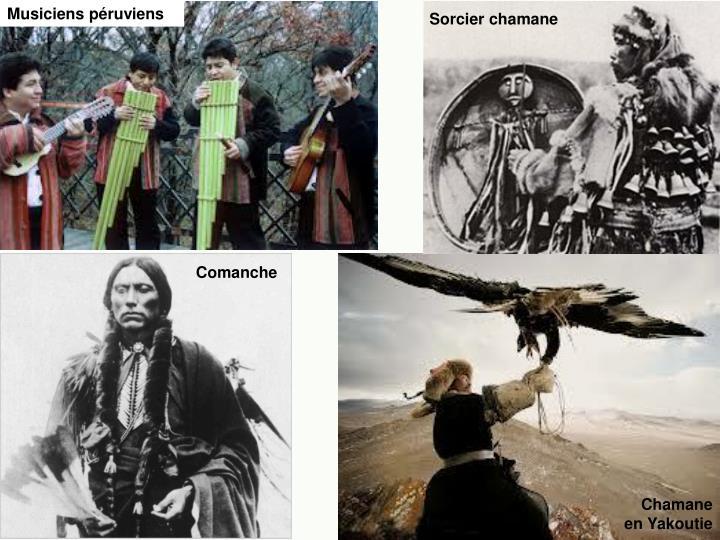 Musiciens péruviens