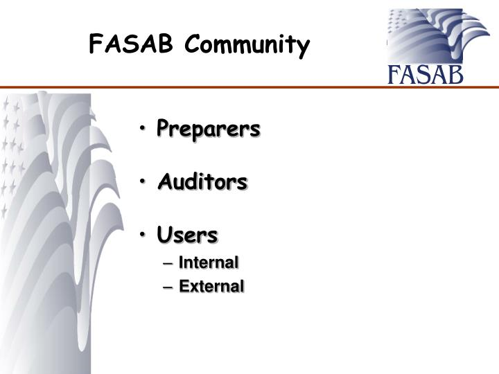 FASAB Community