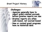 grant project history