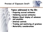 preview of exposure draft1