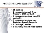who are the aapc members