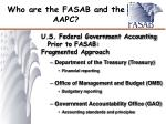 who are the fasab and the aapc