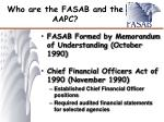 who are the fasab and the aapc1