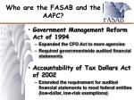 who are the fasab and the aapc2