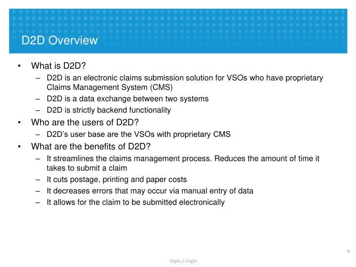 D2D Overview