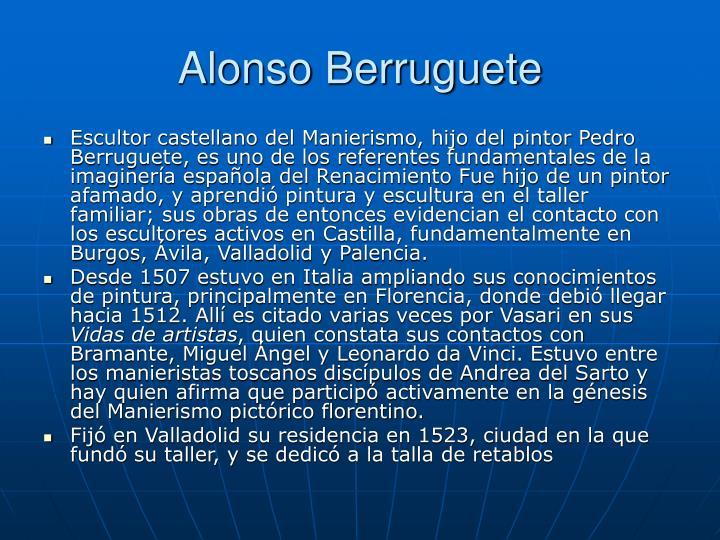 Alonso Berruguete
