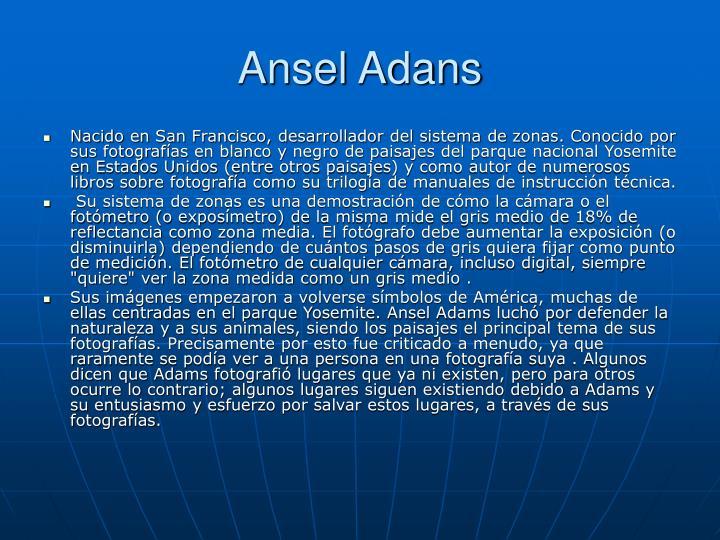 Ansel Adans