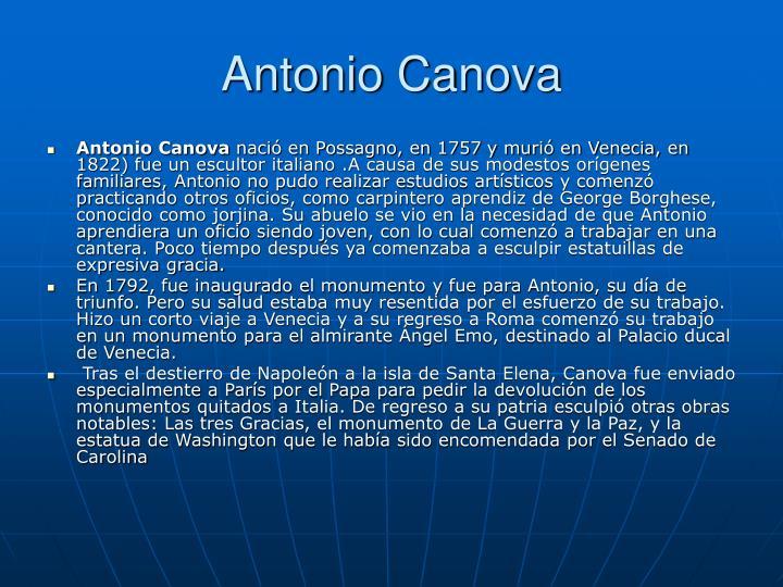 Antonio Canova