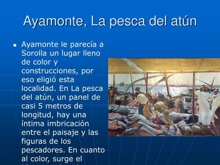 Ayamonte, La pesca del atún