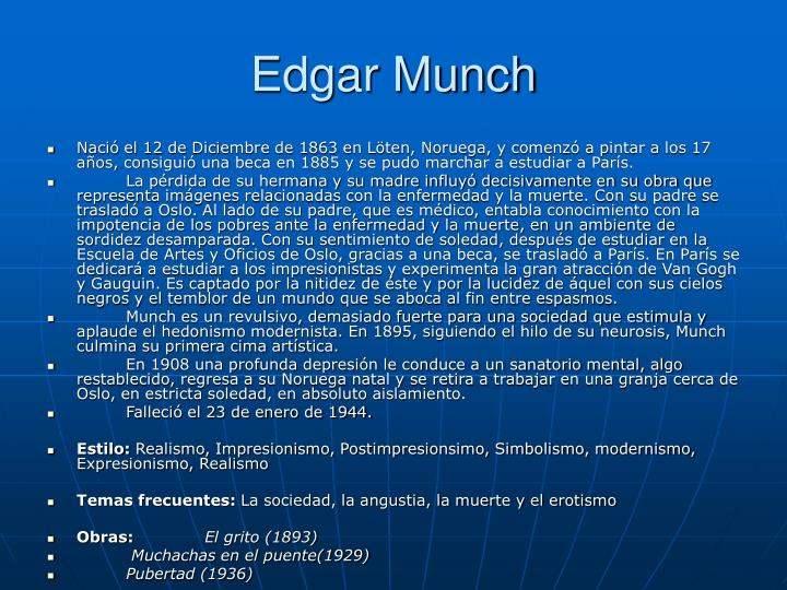 Edgar Munch