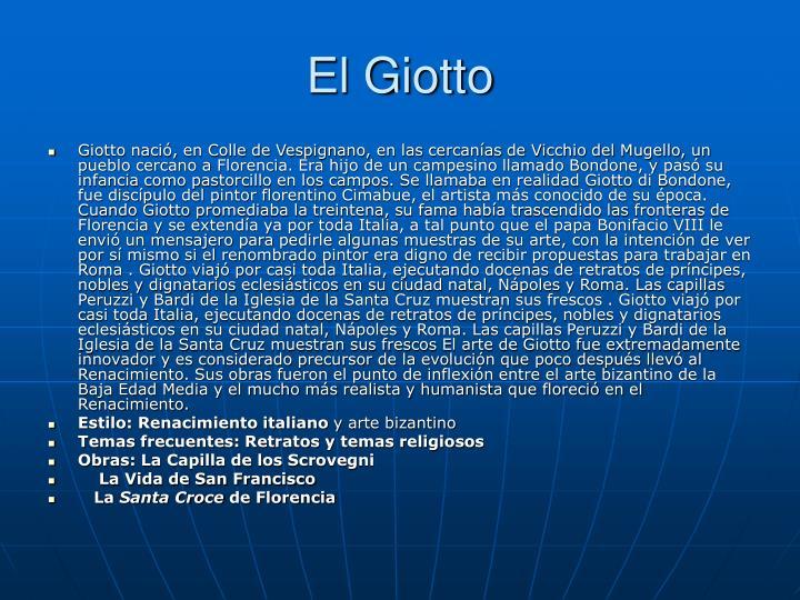 El Giotto