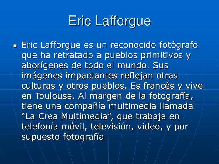 Eric Lafforgue