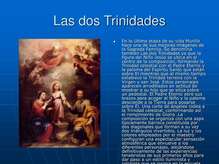 Las dos Trinidades