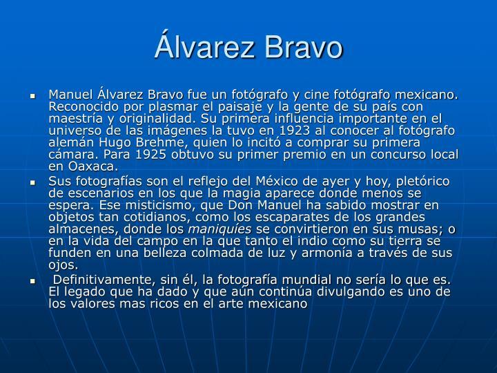 Álvarez Bravo