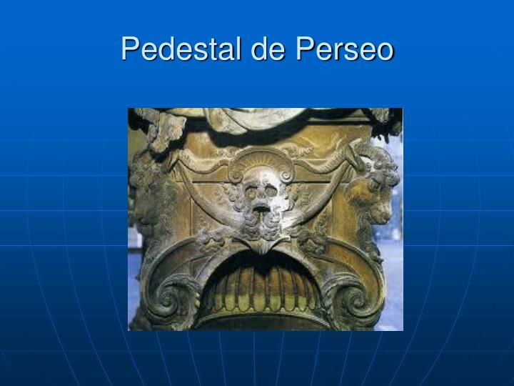 Pedestal de Perseo