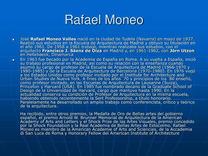 Rafael Moneo