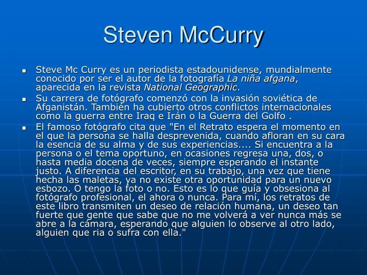 Steven McCurry