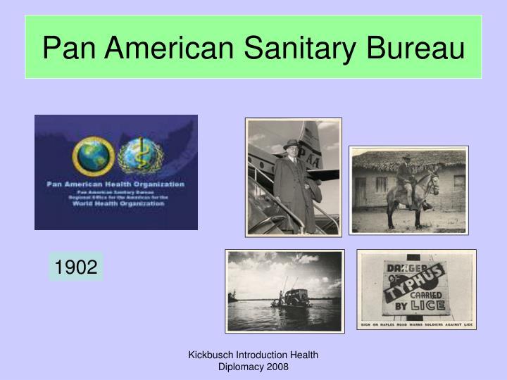 Pan American Sanitary Bureau