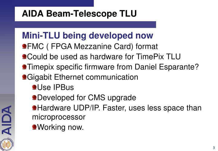 AIDA Beam-Telescope TLU