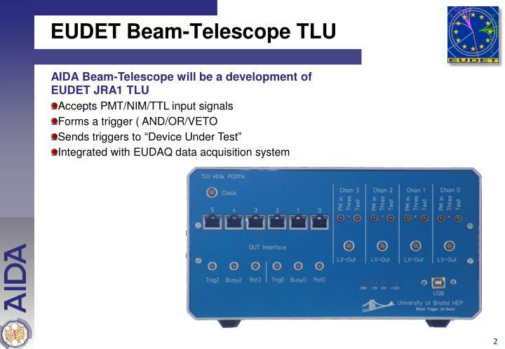 EUDET Beam-Telescope TLU