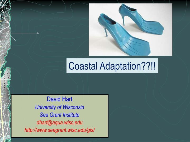 Coastal Adaptation??!!
