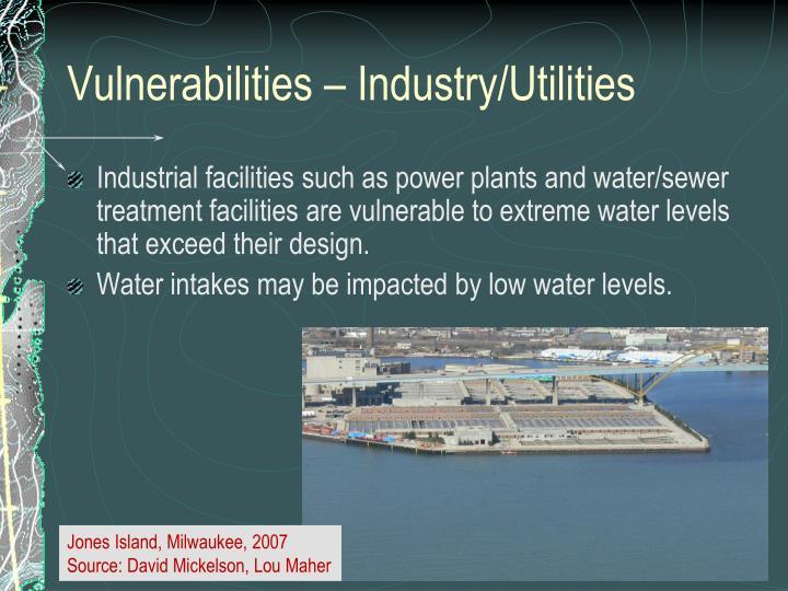 Vulnerabilities – Industry/Utilities