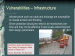 vulnerabilities infrastructure