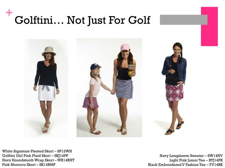 Golftini… Not Just For Golf