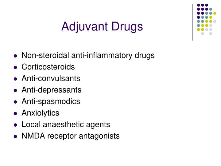Adjuvant Drugs