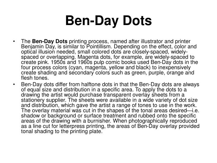 Ben-Day Dots