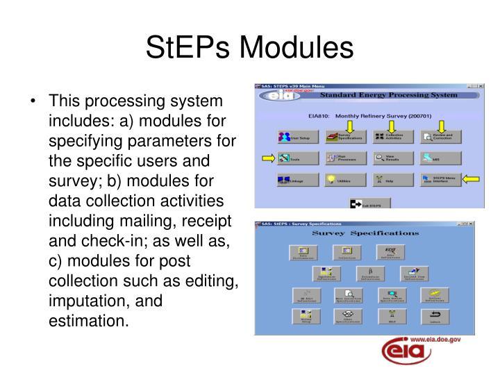 StEPs Modules