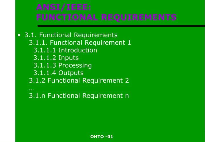 ANSI/IEEE: